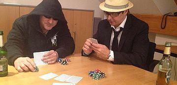 Mackie Messer und der Henker auf der Marit AG Pokernight