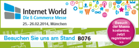 Marit AG Stand B076 auf Internet World Messe 2014