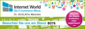 Marit AG Stand B076 auf Internet World Messe 2014