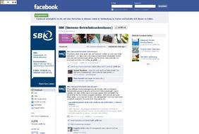 Social Media mit Münchner Internetagentur Marit AG: Siemens-Betrieskrankenkasse (SBK)