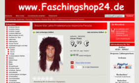 Screenshot Faschingshop24