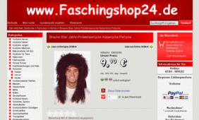 Screenshot Faschingshop24