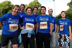 B2RUN München mit einem Team der Marit AG