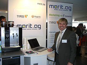 Stefan Bauer, Marit AG und unsere Jura auf der eCommerce Fachmesse Internet World 2012