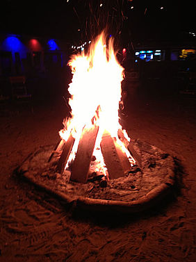 TYPO3camp Berlin Lagerfeuer