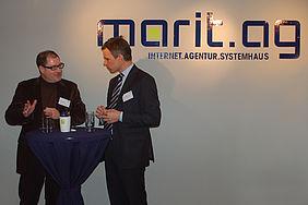 "Internetagentur Marit AG München: Kundenevent ""Trendkompass 2012"""