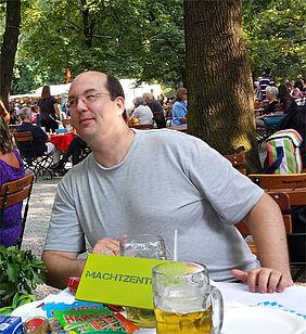 Marit AG Sommerfest Hirschgarten Jens