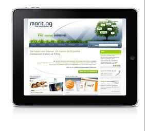 Internetagentur Marit AG München verlost ein iPad 2