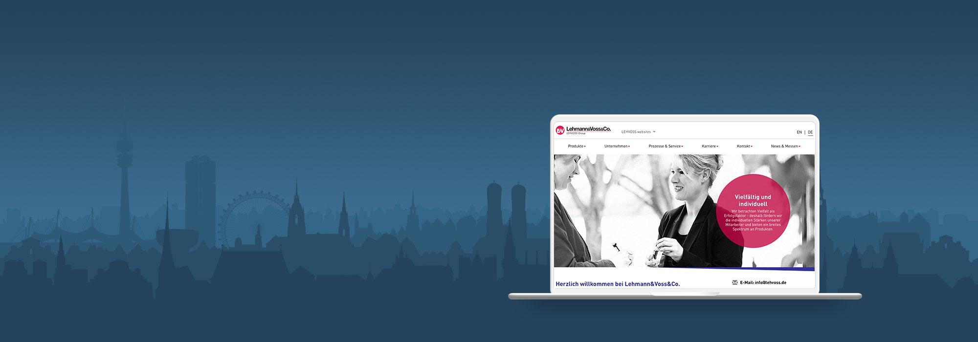Website Lehmann & Voss