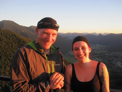 Nadine Gübitz und Daniel Schlamp