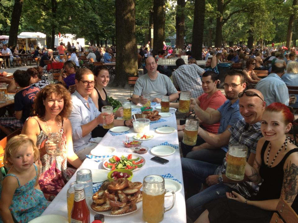 Marit AG Sommerfest Hirschgarten