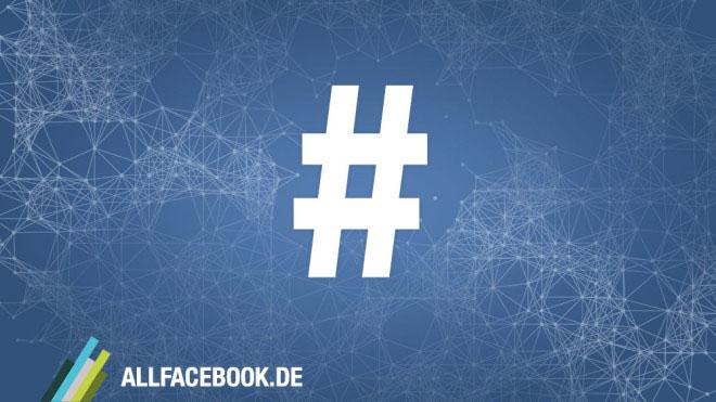 Hashtags bei Facebook