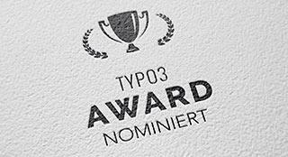 TYPO3 Award 2018 - 2 Nominierungen für +Pluswerk München