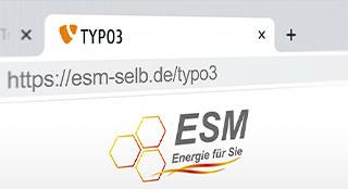 TYPO3 Upgrade für ESM