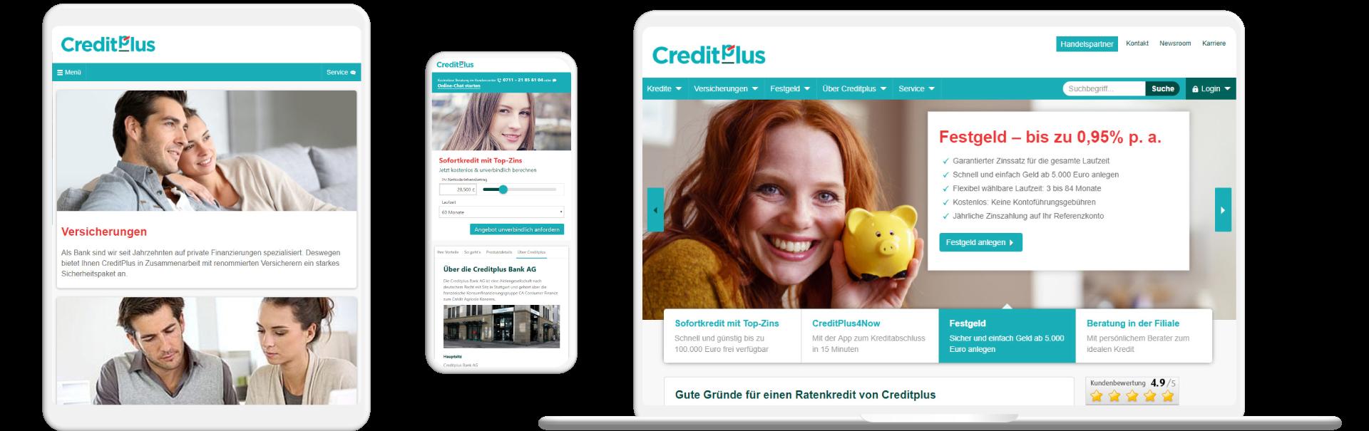 Screens Creditplus