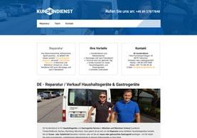 Neue Website DE Kundendienst