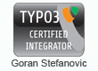 TYPO3 Certified Integratoer Goran Stefanovic