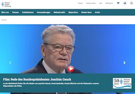 Website Hanns-Seidel-Stiftung